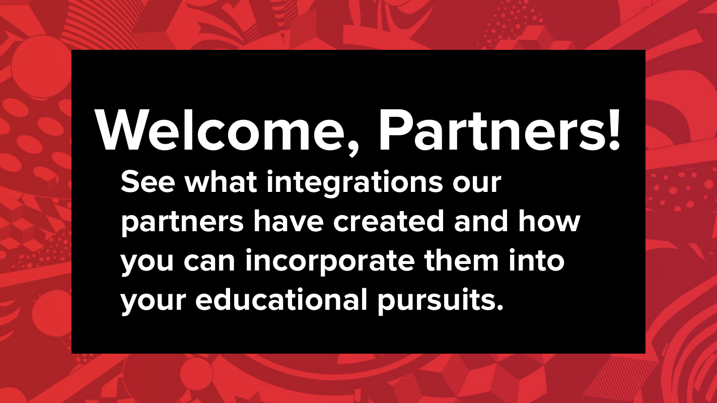 Welcome, Partners!