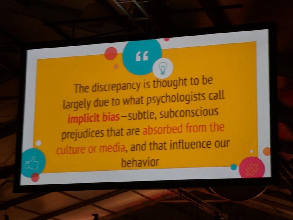 slide about implicit bias