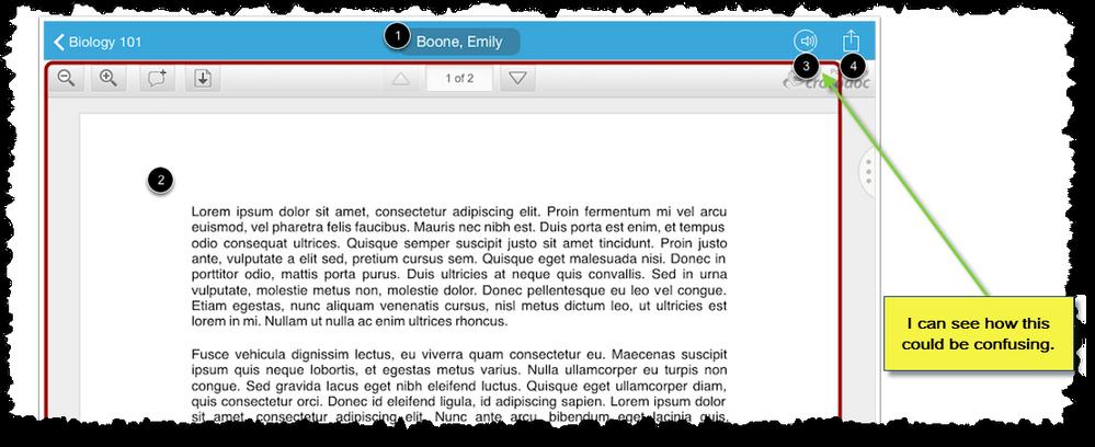 SpeedGrader_location-of-unmute-link-in-iOS-app.png