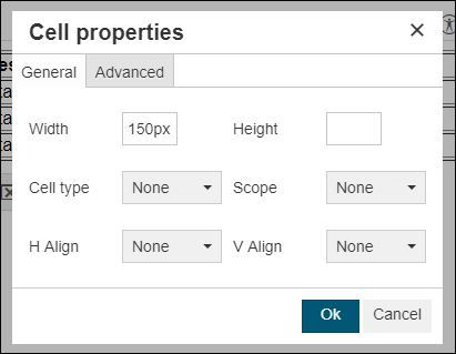 Cell properties