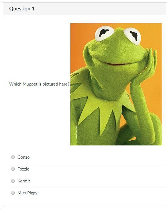 Muppets Quiz 1