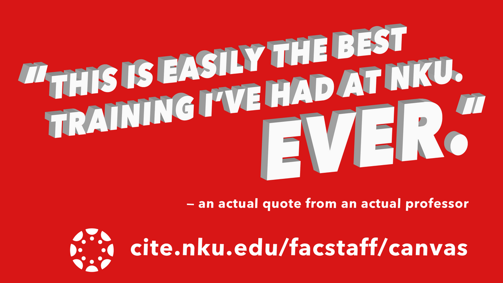 """A quote from a professor saying """"This is easily the best training I"""