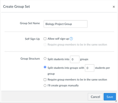 Assign Groups by Student Number