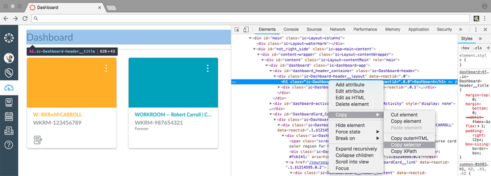 Canvas Developer Tools _ Change HTML with JavaScript