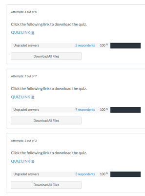 Download all files found in Quiz Statistics since the file type questions were in groups.