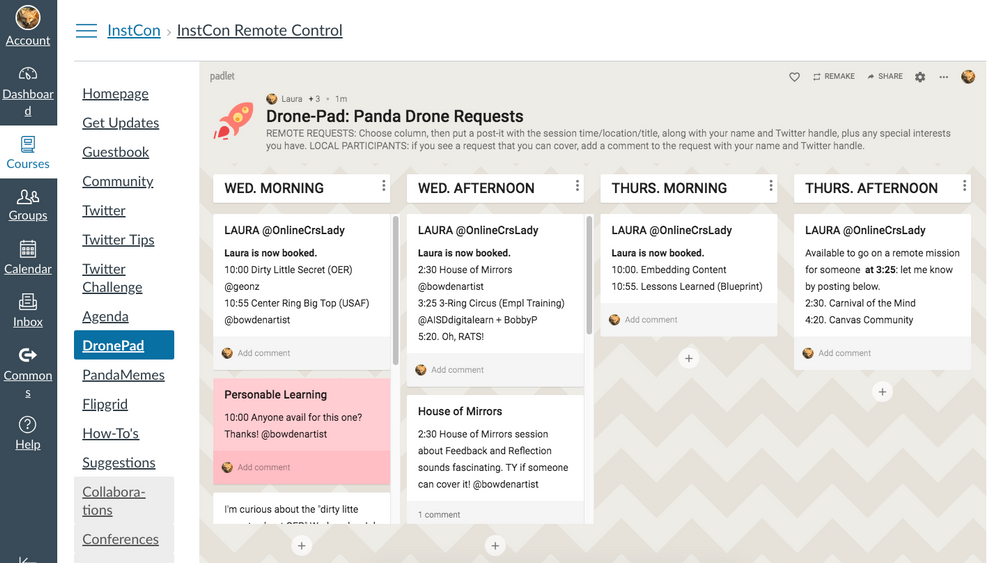 padlet screenshot