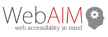 WebAIM_ web accessibility in mind
