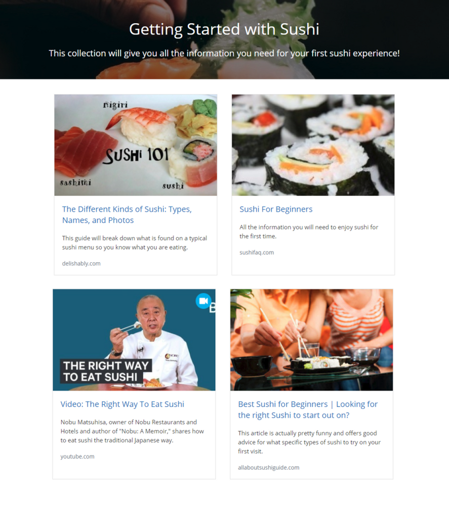 sushi resources annotated
