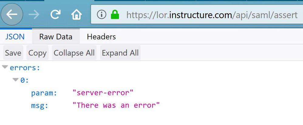 Commons Login error