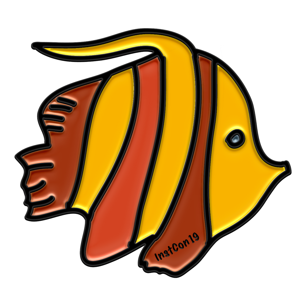 "Unconference ""Fish"" Badge"