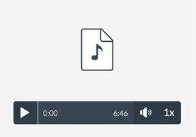 Default audio player