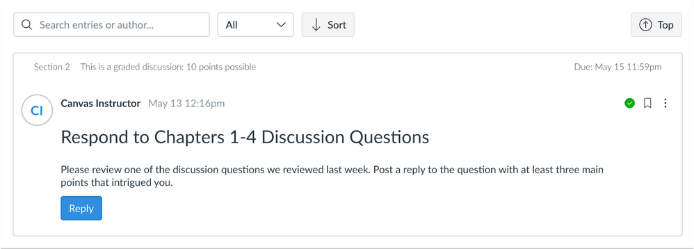 Discussions Redesign