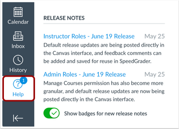 Release Notes Interface